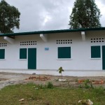 Photo of the finished school exterior