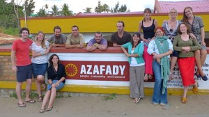 Photo of the Azafady UK crew, June 2014