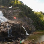 Photo of the waterfall at Ranomafana